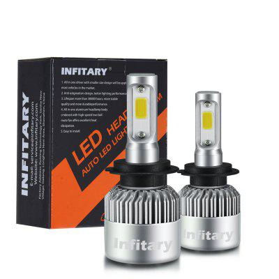 Hot Sell H7 Auto LED Headlight Bulbs with COB Chip 72W 8000LM Auto Lamp Fog Lights