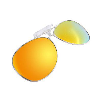 PolarFire Outdoor Anti-Radition Anti UV Óculos de sol Flip-Up Polarized Leds Clip Adequado para Myopia