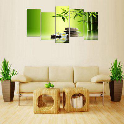 Buy MailingArt FIV236 5 Panels Landscape Wall Art Painting Home Decor Canvas Print, COLORMIX, Home & Garden, Home Decors, Wall Art, Prints for $57.78 in GearBest store