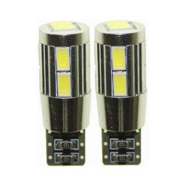 Sencart T10 W5W 10SMD 5630 Canbus LED White Light Car Turn Signal Corner Parking Lamp (DC 12V / 2 PCS)