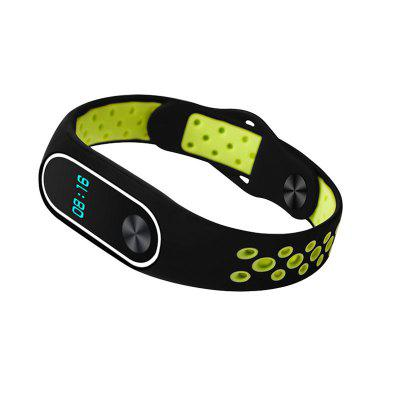 New Silicone Smart Wrist Strap Wristband for Mi Band 2Smart Watch Accessories<br>New Silicone Smart Wrist Strap Wristband for Mi Band 2<br><br>Function: Xiaomi Mi Band 2<br>Material: Silicone<br>Package Contents: 1 x Wristband<br>Package size: 8.00 x 8.00 x 2.00 cm / 3.15 x 3.15 x 0.79 inches<br>Package weight: 0.0140 kg<br>Product size: 25.50 x 1.80 x 0.80 cm / 10.04 x 0.71 x 0.31 inches<br>Product weight: 0.0120 kg