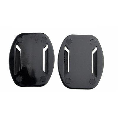 New Camera Helmet Accessories Curved Base Mount with Adhesive Stickers Kit for GoPro Hero 6/5S/5/4/3+/3/2/1