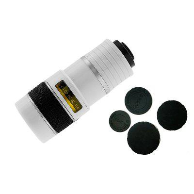 Multi-Coating Glass Universal 8X Zoom Telephoto Camera Lens Shutterbug Necessary with Clip for Samsung /Huawei