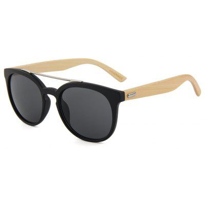 Fashion New Bamboo Glasses Round Frame Color Film Sunglasses Metal HingeMens Sunglasses<br>Fashion New Bamboo Glasses Round Frame Color Film Sunglasses Metal Hinge<br><br>Frame material: ABS<br>Gender: Unisex<br>Group: Adult<br>Lens material: CR-39<br>Package Contents: 1 x Pair of Sunglasses<br>Package size (L x W x H): 13.50 x 13.80 x 4.50 cm / 5.31 x 5.43 x 1.77 inches<br>Package weight: 0.0350 kg<br>Style: Oval