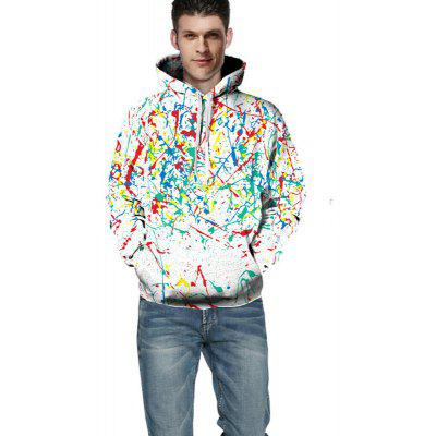 3D Digital Printing Color Ink Fashion Hoodie