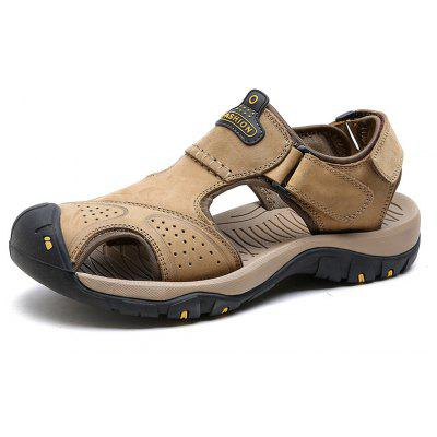Leather Hollow Casual SandalsMens Sandals<br>Leather Hollow Casual Sandals<br><br>Available Size: 38-45<br>Closure Type: Buckle Strap<br>Embellishment: None<br>Gender: For Men<br>Heel Hight: 2<br>Occasion: Casual<br>Outsole Material: Rubber<br>Package Contents: 1xShoes(pair)<br>Pattern Type: Solid<br>Sandals Style: Slides<br>Style: Fashion<br>Upper Material: Genuine Leather<br>Weight: 1.5800kg