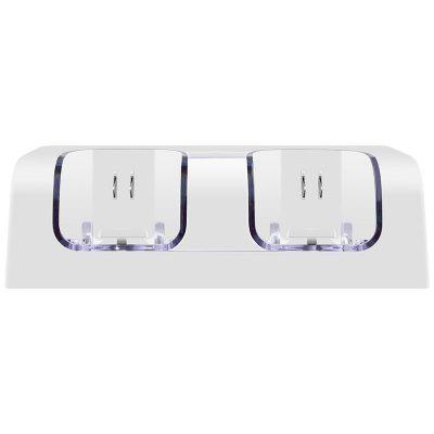 Afstandsbediening Dual Charging Dock Station + 2x 2800mAh Battery Pack met LED Light voor Wii