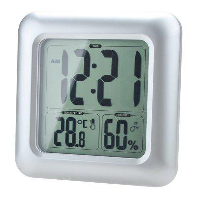 BALDR Bathroom Clock LCD Waterproof ShowerClocks<br>BALDR Bathroom Clock LCD Waterproof Shower<br><br>Brand: BALDR<br>Color: Silver<br>Material: Plastic<br>Package Contents: 1 x B0006TH Digital Clock  1x Instruction Manual<br>Package size (L x W x H): 16.80 x 6.00 x 16.80 cm / 6.61 x 2.36 x 6.61 inches<br>Package weight: 0.5900 kg<br>Product weight: 0.4250 kg<br>Shape: Novelty<br>Style: Fashion<br>Time Display: Digital<br>Type: Wall Clock
