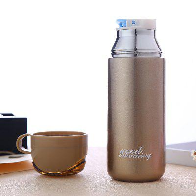 Double Color Lid Stainless Steel Vacuum CupWater Cup &amp; Bottle<br>Double Color Lid Stainless Steel Vacuum Cup<br><br>Material: Stainless Steel, PP, ABS<br>Package Contents: 1 x Cup<br>Package size (L x W x H): 20.00 x 7.00 x 7.00 cm / 7.87 x 2.76 x 2.76 inches<br>Package weight: 0.3000 kg