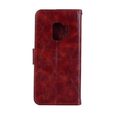 Extravagant Retro Fashion Flip Leather Case For Samsung Galaxy S9 Phone Bag with Stand PU Wallet Cover CasesSamsung S Series<br>Extravagant Retro Fashion Flip Leather Case For Samsung Galaxy S9 Phone Bag with Stand PU Wallet Cover Cases<br><br>Characteristic: 360 degree full protection mobile phone shell<br>Compatible with: SAMSUNG<br>Features: With Credit Card Holder, Anti-knock, Auto Sleep/Wake Up, Cases with Stand, Bumper Frame, Full Body Cases, Back Cover, Dirt-resistant<br>For: Samsung Mobile Phone<br>Material: Silicone, PU Leather, TPU, PC<br>Package Contents: 1 x Phone Case<br>Package size (L x W x H): 16.00 x 8.00 x 2.00 cm / 6.3 x 3.15 x 0.79 inches<br>Package weight: 0.0750 kg<br>Product size (L x W x H): 15.50 x 7.50 x 1.50 cm / 6.1 x 2.95 x 0.59 inches<br>Product weight: 0.0700 kg<br>Style: Fashion, Cool, Funny, Vintage/Nostalgic Euramerican Style, Silk Texture, Solid Color, Retro, Leather, Vintage, Novelty