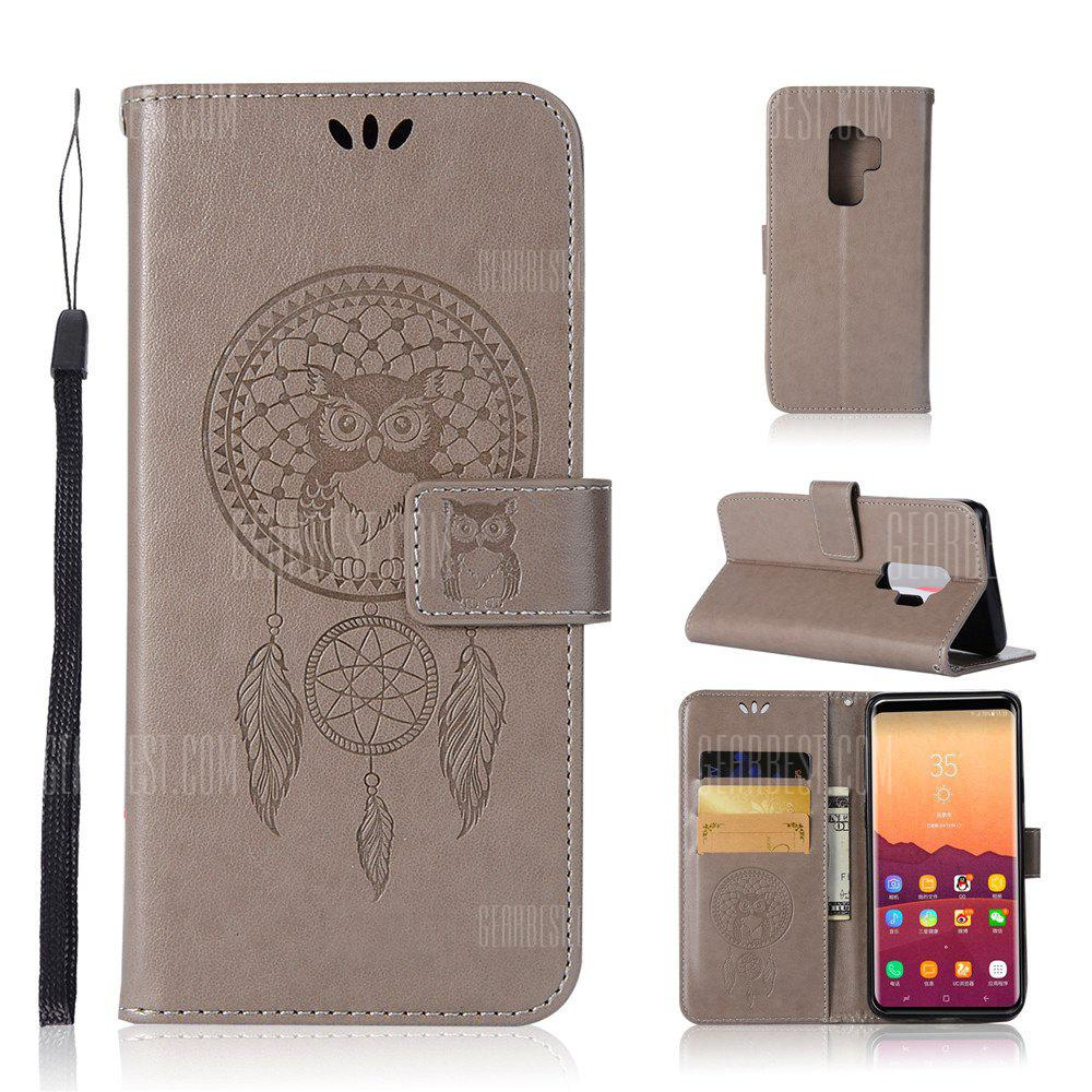 Owl Campanula Fashion Wallet Cover For Samsung Galaxy S9 Plus Phone Bag With Stand PU Extravagant Flip Leather Case