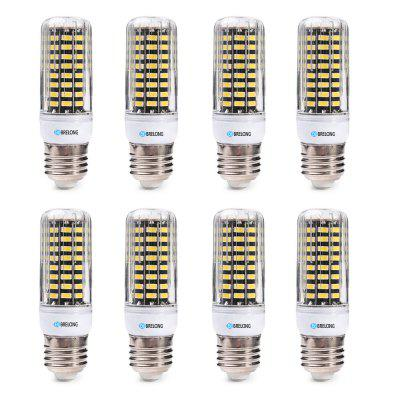 BRELONG  E27 SMD5733  6W 9W 12W 15W 18W  Corn Light AC220-240V 8PCSCorn Bulbs<br>BRELONG  E27 SMD5733  6W 9W 12W 15W 18W  Corn Light AC220-240V 8PCS<br><br>Brand: BRELONG<br>Color Temperature or Wavelength: 3000-3500  6000-6500<br>Connection: E27<br>Connector Type: E27<br>Dimmable: No<br>Initial Lumens ( lm ): 600 , 900 , 1200 , 1500 , 1800<br>LED Beam Angle: 360 Degree<br>Lifetime ( h ): More Than  30000<br>Light Source Color: White,Warm White<br>Material: ABS<br>Package Contents: 8 x BRELONG Corn Light<br>Package size (L x W x H): 11.00 x 24.00 x 4.00 cm / 4.33 x 9.45 x 1.57 inches<br>Package weight: 0.2880 kg<br>Primary Application: Home,Living Room,Home or Office,Living Room or Dining Room,Everyday Use<br>Product weight: 0.0360 kg<br>Type: LED Corn Lights<br>Voltage: 220-240V<br>Wattage: Other