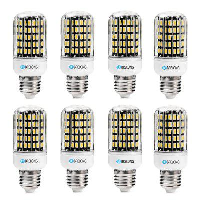 BRELONG  E27 SMD5733  6W 9W 12W 15W 18W  Corn Light AC220-240V 8PCS
