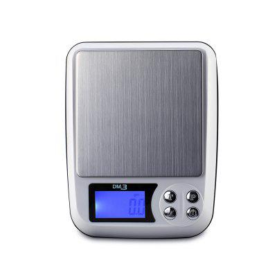 MD3 Portable High-Precision Electronic Jewelry ScaleHome Gadgets<br>MD3 Portable High-Precision Electronic Jewelry Scale<br><br>Materials: ABS<br>Package Contents: 1 x weighing pan, 1 x scale, 1 x charger, 1 x packing box, 1 x English manual<br>Package Size(L x W x H): 19.00 x 15.70 x 5.70 cm / 7.48 x 6.18 x 2.24 inches<br>Package weight: 0.3800 kg<br>Product Size(L x W x H): 16.00 x 12.50 x 3.80 cm / 6.3 x 4.92 x 1.5 inches<br>Product weight: 0.3200 kg