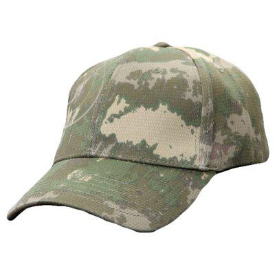 New Product Striped Camouflage Fast Drying Baseball Breathable Camouflage Baseball Cap