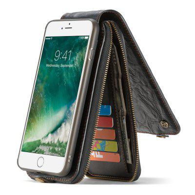 CaseMe for iPhone 8 Plus/7 Plus Leather Zipper Wallet Case with Magnetic PC TPU Back Cover Detachable Folio Cash HoldersiPhone Cases/Covers<br>CaseMe for iPhone 8 Plus/7 Plus Leather Zipper Wallet Case with Magnetic PC TPU Back Cover Detachable Folio Cash Holders<br><br>Brand: CaseMe<br>Color: Black,Red,Brown<br>Compatible for Apple: iPhone 7 Plus, iPhone 8 Plus<br>Features: Wallet Case, Shatter-Resistant Case, FullBody Cases, Dirt-resistant, Anti-knock, Button Protector, With Credit Card Holder, Bumper Frame, Back Cover<br>Material: PC, TPU, PU Leather, Metal<br>Package Contents: 1 x Phone Case<br>Package size (L x W x H): 17.40 x 9.10 x 4.10 cm / 6.85 x 3.58 x 1.61 inches<br>Package weight: 0.2320 kg<br>Product size (L x W x H): 17.30 x 9.00 x 4.00 cm / 6.81 x 3.54 x 1.57 inches<br>Product weight: 0.2220 kg<br>Style: Name Brand Style, Retro, Leather