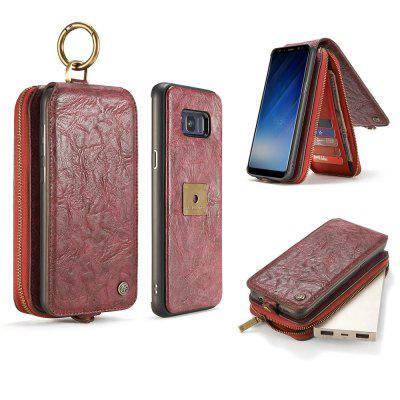 CaseMe for Samsung Galaxy S8 Plus Classic Retro Wallet Leather Case Strong Magnetic Closure Removable Back CoverSamsung S Series<br>CaseMe for Samsung Galaxy S8 Plus Classic Retro Wallet Leather Case Strong Magnetic Closure Removable Back Cover<br><br>Brand: CaseMe<br>Color: Black,Red,Brown<br>Compatible with: Samsung Galaxy S8 Plus<br>Features: Anti-knock, Button Protector, With Credit Card Holder, Bumper Frame, Full Body Cases, Back Cover<br>Material: PC, TPU, PU Leather, Metal<br>Package Contents: 1 x Phone Case<br>Package size (L x W x H): 17.10 x 9.50 x 4.10 cm / 6.73 x 3.74 x 1.61 inches<br>Package weight: 0.2330 kg<br>Product size (L x W x H): 17.00 x 9.30 x 4.00 cm / 6.69 x 3.66 x 1.57 inches<br>Product weight: 0.2230 kg<br>Style: Vintage, Leather