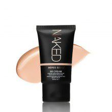 HERES B2UTY Strong Isolation Perfect Cover BB Cream Nude Glow Skin Whitening Compact Foundation Makeup 35g