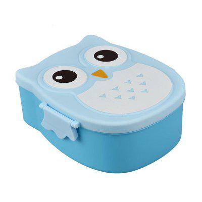 Owl Lunch Food Container Storage Box PortableDinnerware<br>Owl Lunch Food Container Storage Box Portable<br><br>Package Contents: 1 x Lunch Box<br>Package size (L x W x H): 16.20 x 14.70 x 7.50 cm / 6.38 x 5.79 x 2.95 inches<br>Package weight: 0.1600 kg