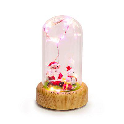LED Bluetooth Speaker Wishing Bottle Decoration LED Night LightSmart Lighting<br>LED Bluetooth Speaker Wishing Bottle Decoration LED Night Light<br><br>Available Light Color: Colorful<br>Color Temperature or Wavelength: 3500k<br>Features: Bluetooth, Loudspeaker<br>Function: Home Lighting<br>Output Power: &lt;1W<br>Package Contents: 1x Wishing Bottle Streamer,1 x USB Data Cable, 1 x Chinese Manual<br>Package size (L x W x H): 22.50 x 15.50 x 12.00 cm / 8.86 x 6.1 x 4.72 inches<br>Package weight: 0.5800 kg<br>Sheathing Material: Glass