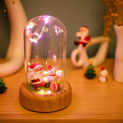 LED Night Light Bluetooth Speaker Wishing Bottle
