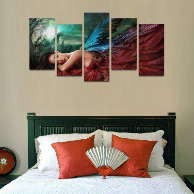 MailingArt F045 5 Panels Landscape Wall Art Painting Home Decor Canvas PrintPrints<br>MailingArt F045 5 Panels Landscape Wall Art Painting Home Decor Canvas Print<br><br>Craft: Print<br>Form: Five Panels<br>Material: Canvas<br>Package Contents: 5 x Print<br>Package size (L x W x H): 82.00 x 32.00 x 12.00 cm / 32.28 x 12.6 x 4.72 inches<br>Package weight: 1.8000 kg<br>Painting: Include Inner Frame<br>Shape: Horizontal Panoramic<br>Style: Natural<br>Subjects: People<br>Suitable Space: Living Room,Bedroom,Dining Room,Office,Hotel,Cafes,Kids Room,Kitchen,Hallway,Kids Room,Study Room / Office
