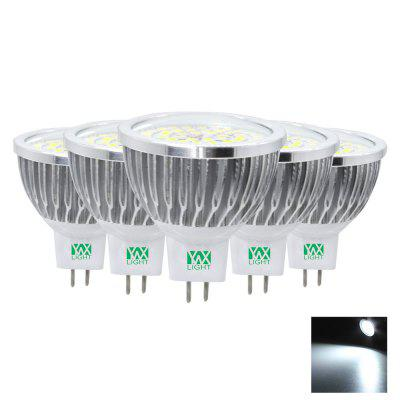 5PCS YWXLight MR16 2835SMD 7W LED Lamp Lampada Spotlight Bulbs Lighting AC 85 - 265V