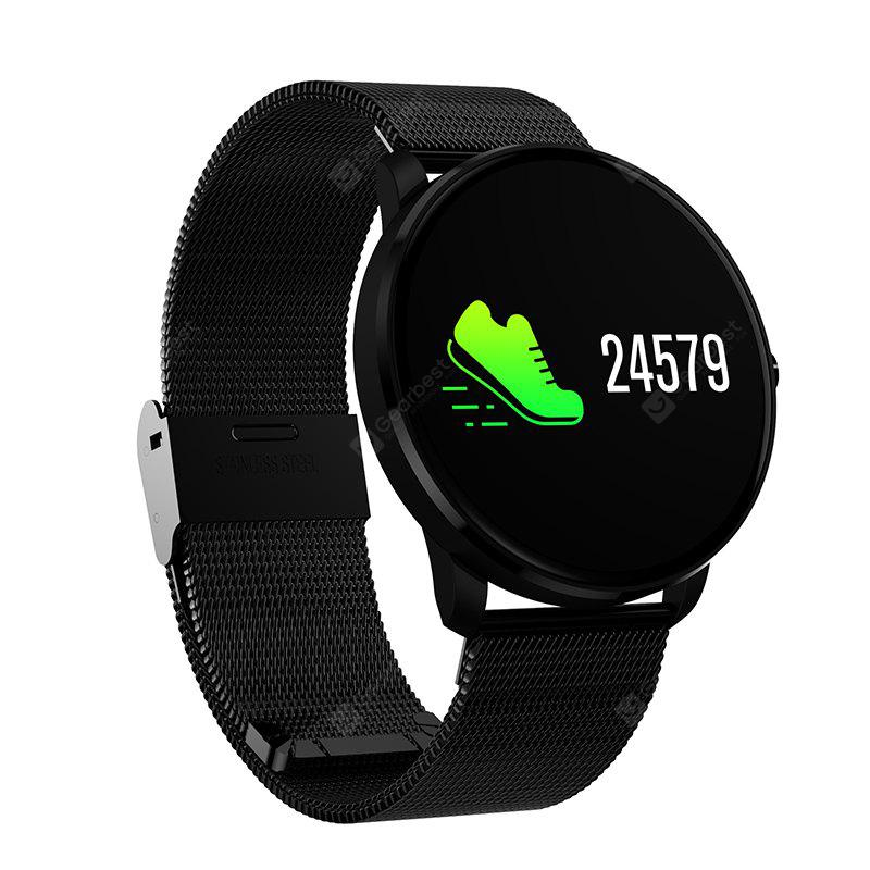 Smart Watch CF007S Touch Screen Wearable Devices Heart Rate Monitor- BLACK