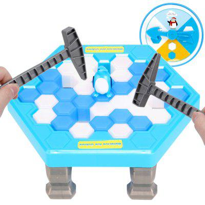 Board Game Save Penguin Break Ice Blocks Children Educational Parent-chid Interactive Games