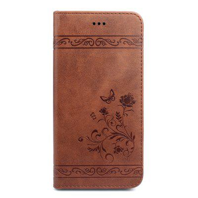 Cover for iPhone 8 Plus/7 Plus Mobile Phone Shell Handset Card Slot Flip Case Leather Wallet Handset