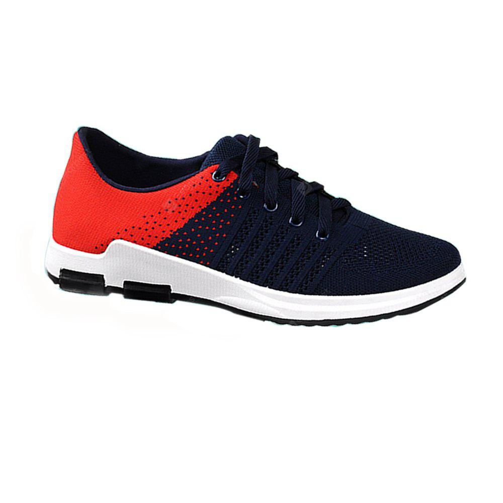 Men Wild Respiravel Shoes Fashion Mesh Hollow Running Sneakers
