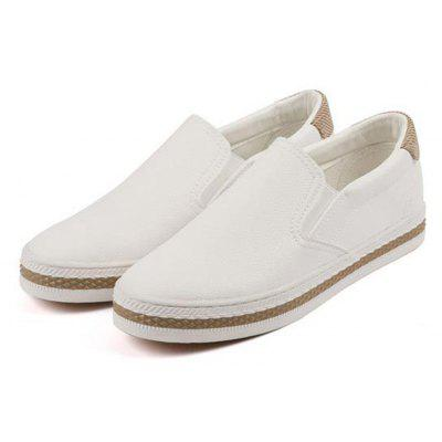 Women Casual Flat Fashion Wild Collocation SneakersWomens Sneakers<br>Women Casual Flat Fashion Wild Collocation Sneakers<br><br>Available Size: 35 - 44<br>Closure Type: Slip-On<br>Embellishment: None<br>Gender: For Women<br>Outsole Material: Rubber<br>Package Contents: 1 x Shoes (pair)<br>Pattern Type: Solid<br>Season: Summer, Spring/Fall<br>Toe Shape: Round Toe<br>Toe Style: Closed Toe<br>Upper Material: PU<br>Weight: 1.0000kg