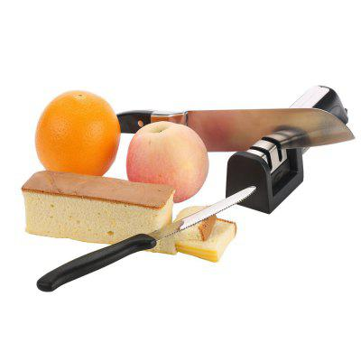 Updated Version of Knife Sharpener for Straight Serrated Knives and Scissors-2 Stage Diamond Sharpening System-MultifunctionalKitchen Knives<br>Updated Version of Knife Sharpener for Straight Serrated Knives and Scissors-2 Stage Diamond Sharpening System-Multifunctional<br><br>Package Contents: 1 x Updated Version of Knife Sharpener<br>Package Size(L x W x H): 20.00 x 8.00 x 6.00 cm / 7.87 x 3.15 x 2.36 inches<br>Package weight: 0.2000 kg<br>Product Size(L x W x H): 20.00 x 7.00 x 5.00 cm / 7.87 x 2.76 x 1.97 inches<br>Product weight: 0.1800 kg