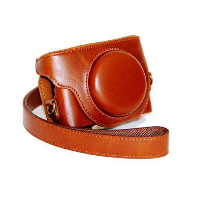 PU Leather Camera Case Bag Cover for Sony DSC-RX100M5 M4 M3 RX100V