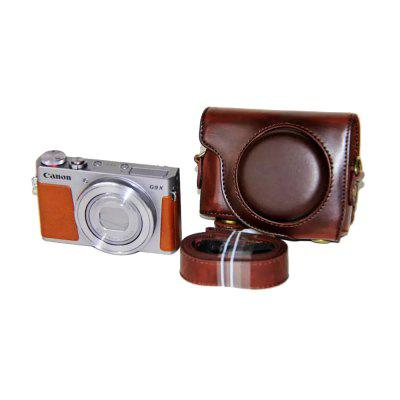 PU Leather Camera Case Bag for Canon PowerShot G9 X Mark II G9X G9X2Camera Bags<br>PU Leather Camera Case Bag for Canon PowerShot G9 X Mark II G9X G9X2<br><br>Applicable models: Canon PowerShot G9 X Mark II /Canon PowerShot G9X<br>Package Contents: 1 x Camera Case , 1 x Shoulder Strap<br>Package size (L x W x H): 11.00 x 8.50 x 5.00 cm / 4.33 x 3.35 x 1.97 inches<br>Package weight: 0.1110 kg<br>Product size (L x W x H): 11.00 x 8.00 x 5.00 cm / 4.33 x 3.15 x 1.97 inches<br>Product weight: 0.1100 kg<br>Type: Leisure, Sling Shoulder<br>Waterproof: No