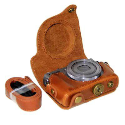 PU Leather Camera Case Bag for Canon PowerShot G9 X Mark II G9X G9X2