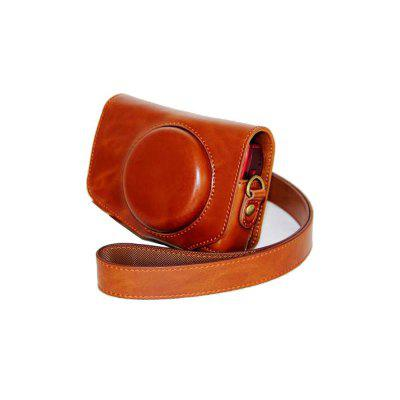 PU Leather Camera Case Bag Cover for Canon PowerShot SX730 SX720 HS