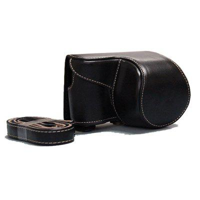 PU Leather Camera Case Bag for Sony ILCE-6300 A6300 A6000 16-50 LensCamera Bags<br>PU Leather Camera Case Bag for Sony ILCE-6300 A6300 A6000 16-50 Lens<br><br>Applicable models: sony a6300<br>Package Contents: 1 x Camera Case , 1 x Shoulder Strap<br>Package size (L x W x H): 12.00 x 9.00 x 8.00 cm / 4.72 x 3.54 x 3.15 inches<br>Package weight: 0.1900 kg<br>Product size (L x W x H): 12.00 x 8.50 x 8.00 cm / 4.72 x 3.35 x 3.15 inches<br>Product weight: 0.1850 kg<br>Type: Leisure, Sling Shoulder, Other<br>Waterproof: No