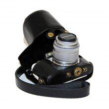 PU Leather Camera Case Bag for Olympus E-PL8 coupons