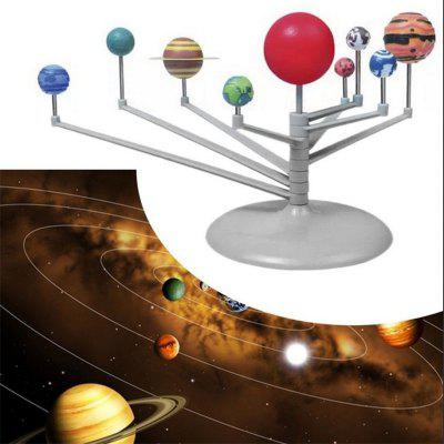 Solar System Planetarium Model Astronomy Science Project DIY Kids GiftOther Educational Toys<br>Solar System Planetarium Model Astronomy Science Project DIY Kids Gift<br><br>Age: 6 Years+<br>Applicable gender: Unisex<br>Design Style: Other<br>Features: DIY, Educational<br>Gender: Unisex<br>Material: ABS<br>Package Contents: 1 x Solar System Planetarium Model Kit, 1 x English Instruction, 1 x Packaging<br>Package size (L x W x H): 21.00 x 18.00 x 6.00 cm / 8.27 x 7.09 x 2.36 inches<br>Package weight: 0.2200 kg<br>Product weight: 0.2100 kg<br>Puzzle Style: Tangram/Jigsaw Board, Other<br>Small Parts: Yes<br>Type: Intelligence toys<br>Washing: No
