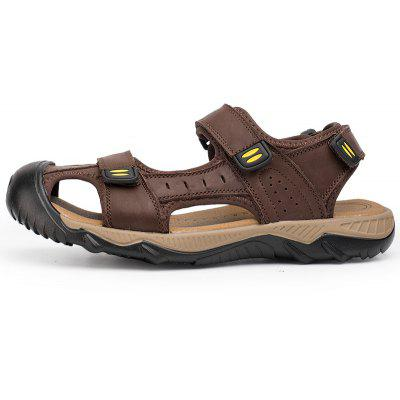 Men Casual Wear Outsole SlipperMens Sandals<br>Men Casual Wear Outsole Slipper<br><br>Available Size: 38-46<br>Closure Type: Hook / Loop<br>Embellishment: Ruched<br>Gender: For Men<br>Heel Hight: 3cm<br>Occasion: Casual<br>Outsole Material: Rubber<br>Package Contents: 1x shoes (pair)<br>Pattern Type: Solid<br>Sandals Style: Slides<br>Style: Leisure<br>Upper Material: Leather<br>Weight: 1.2000kg