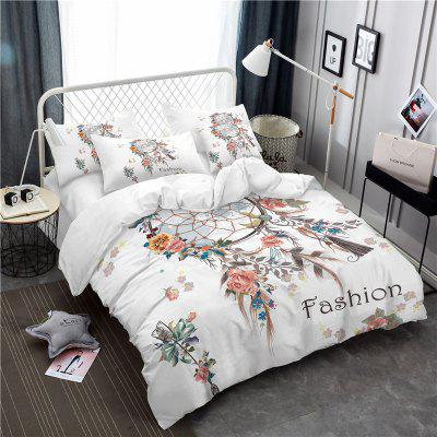 Bohemia 3D series Necklace three piece feather bedding set of four AS33Bedding Sets<br>Bohemia 3D series Necklace three piece feather bedding set of four AS33<br><br>Category: Bedding Set<br>For: All<br>Functions: Multi-functions<br>Material: Cotton, Polyester<br>Occasion: School, Bedroom<br>Package Contents: 1 x Duver Cover,2 x Pillowcases,1 x Bed Sheet or 1 x Duver Cover,2 x Pillowcases,<br>Package size (L x W x H): 28.00 x 26.00 x 5.00 cm / 11.02 x 10.24 x 1.97 inches<br>Package weight: 1.7400 kg