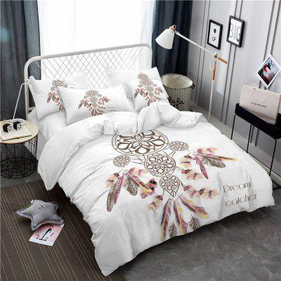 Bohemia 3D Series Necklace Three Piece Feather Bedding Set of Four AS37Bedding Sets<br>Bohemia 3D Series Necklace Three Piece Feather Bedding Set of Four AS37<br><br>Category: Bedding Set<br>For: All<br>Functions: Multi-functions<br>Material: Cotton, Polyester<br>Occasion: School, Bedroom<br>Package Contents: 1 x Duver Cover,2 x Pillowcases,1 x Bed Sheet or 1 x Duver Cover,2 x Pillowcases,<br>Package size (L x W x H): 24.00 x 20.00 x 5.00 cm / 9.45 x 7.87 x 1.97 inches<br>Package weight: 1.5000 kg