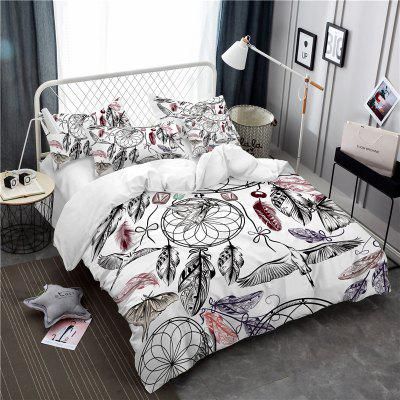 Bohemia 3D Series Mountain Painting Three Piece Bedding Crane Four Sets AS38Bedding Sets<br>Bohemia 3D Series Mountain Painting Three Piece Bedding Crane Four Sets AS38<br><br>Category: Bedding Set<br>For: All<br>Functions: Multi-functions<br>Material: Cotton, Polyester<br>Occasion: School, Bedroom<br>Package Contents: 1 x Duver Cover,2 x Pillowcases,1 x Bed Sheet or 1 x Duver Cover,2 x Pillowcases,<br>Package size (L x W x H): 24.00 x 20.00 x 5.00 cm / 9.45 x 7.87 x 1.97 inches<br>Package weight: 1.5000 kg