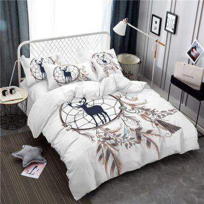 Bohemia 3D Series of Landscape Ink Painting Mountain Deer Bedding Three Piece Four Piece Set AS42Bedding Sets<br>Bohemia 3D Series of Landscape Ink Painting Mountain Deer Bedding Three Piece Four Piece Set AS42<br><br>Category: Bedding Set<br>For: All<br>Functions: Multi-functions<br>Material: Cotton, Polyester<br>Occasion: School, Bedroom<br>Package Contents: 1 x Duver Cover,2 x Pillowcases,1 x Bed Sheet or 1 x Duver Cover,2 x Pillowcases,<br>Package size (L x W x H): 28.00 x 26.00 x 5.00 cm / 11.02 x 10.24 x 1.97 inches<br>Package weight: 1.9500 kg