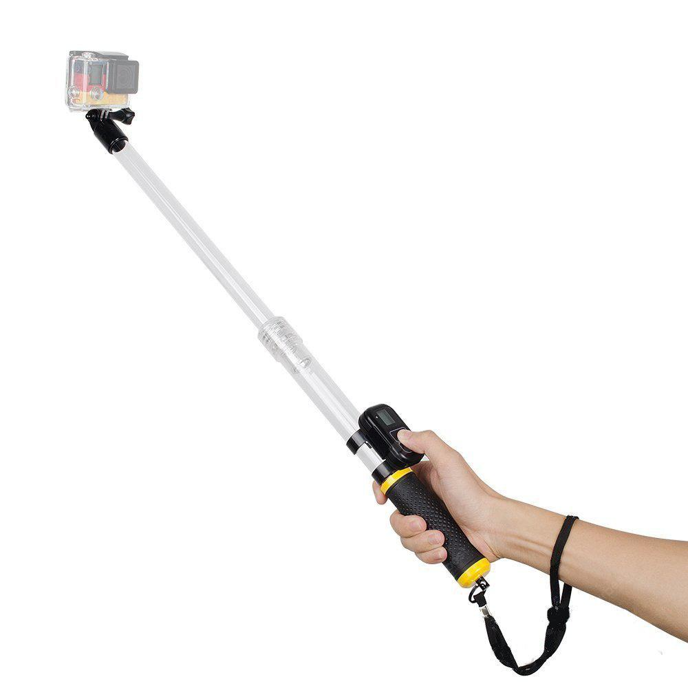 Waterproof Telescopic Pole and Floating Hand Grip in One for Gopro Hero 5/4/3+/3/2/1