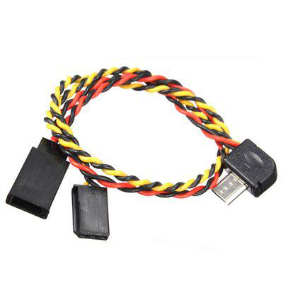 FPV Image Data Transmission AV Video Output Cable for XiaoYi Sport Action Camera