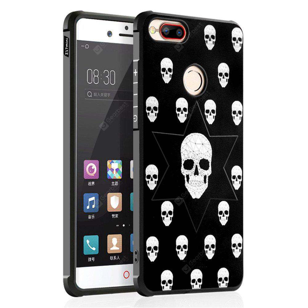 Shockproof Soft Silicone Case for Nubia Z17 Mini Cover Case 3D Painting Fashion Full Protective Phone Case