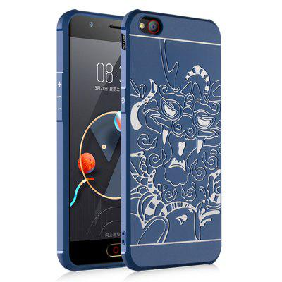Shockproof Soft Silicone Cover for Nubia M2 Lite Case Dragon Pattern Fashion Full Protective Phone Case