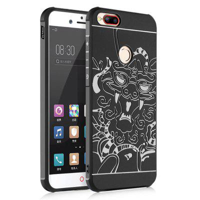 Shockproof Soft Silicone Cover for Nubia Z17 Mini Case Dragon Pattern Fashion Full Protective Phone Case